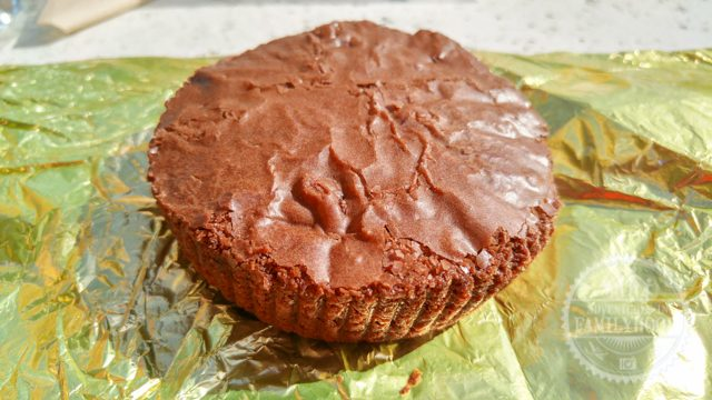 triple chocolate brownie from earl of sandwich