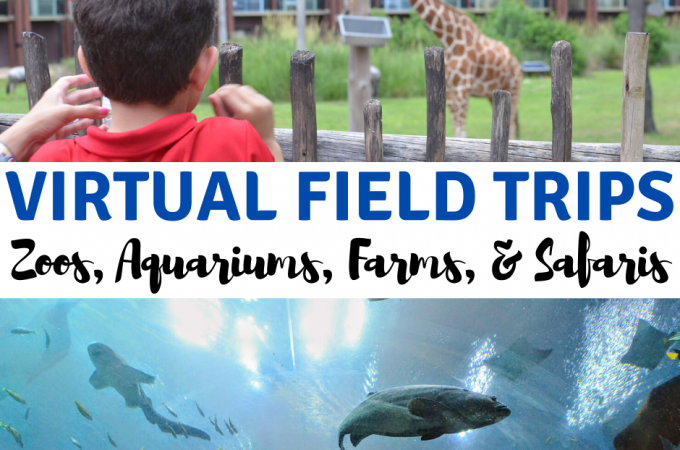 virtual field trips zoos aquariums farms safaris