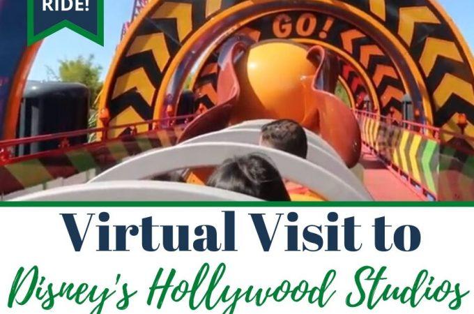 virtual visit to Disney's Hollywood Studios